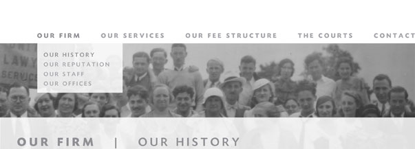 Our Firm: Our History