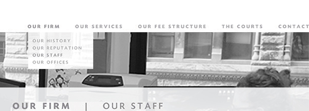 Our Firm: Our Staff