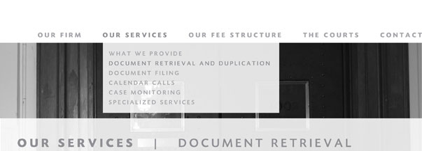 Our Services: Document Retrieval and Duplication