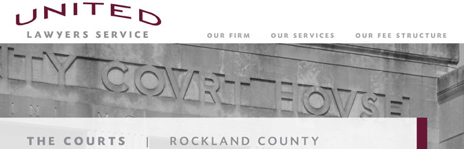 The Courts: Rockland County