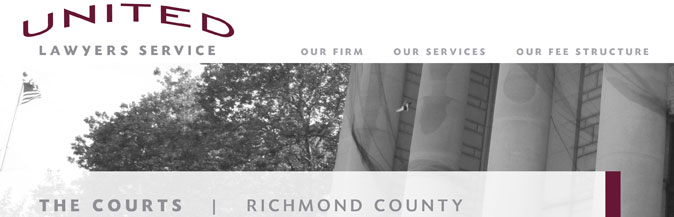 The Courts: Richmond County