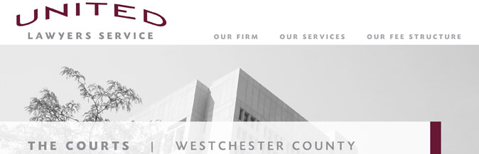 The Courts: Westchester County